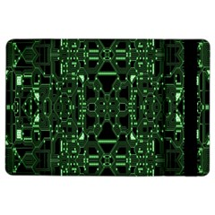 An Overly Large Geometric Representation Of A Circuit Board iPad Air 2 Flip