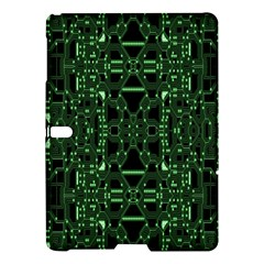 An Overly Large Geometric Representation Of A Circuit Board Samsung Galaxy Tab S (10.5 ) Hardshell Case