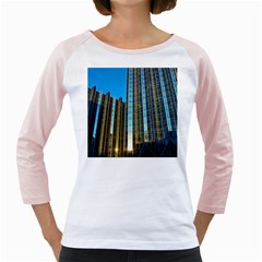 Two Abstract Architectural Patterns Girly Raglans
