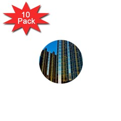 Two Abstract Architectural Patterns 1  Mini Buttons (10 pack)
