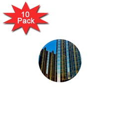 Two Abstract Architectural Patterns 1  Mini Magnet (10 Pack)