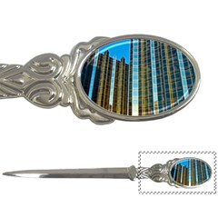 Two Abstract Architectural Patterns Letter Openers