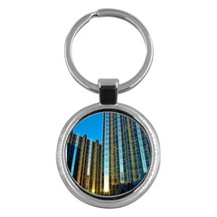 Two Abstract Architectural Patterns Key Chains (round)