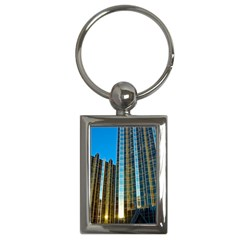 Two Abstract Architectural Patterns Key Chains (rectangle)