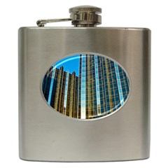 Two Abstract Architectural Patterns Hip Flask (6 oz)