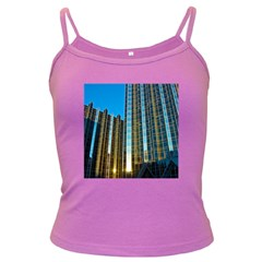 Two Abstract Architectural Patterns Dark Spaghetti Tank