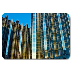 Two Abstract Architectural Patterns Large Doormat