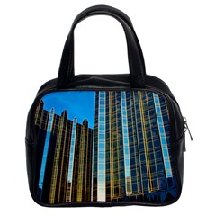 Two Abstract Architectural Patterns Classic Handbags (2 Sides)