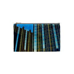 Two Abstract Architectural Patterns Cosmetic Bag (small)