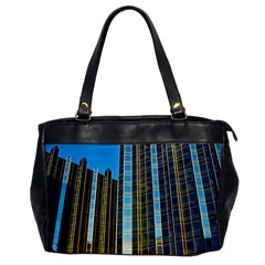 Two Abstract Architectural Patterns Office Handbags