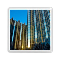 Two Abstract Architectural Patterns Memory Card Reader (square)
