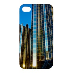 Two Abstract Architectural Patterns Apple iPhone 4/4S Premium Hardshell Case