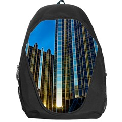 Two Abstract Architectural Patterns Backpack Bag