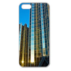 Two Abstract Architectural Patterns Apple Seamless Iphone 5 Case (clear)