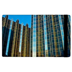Two Abstract Architectural Patterns Apple iPad 2 Flip Case