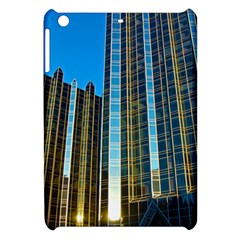 Two Abstract Architectural Patterns Apple iPad Mini Hardshell Case