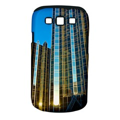 Two Abstract Architectural Patterns Samsung Galaxy S III Classic Hardshell Case (PC+Silicone)