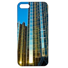 Two Abstract Architectural Patterns Apple iPhone 5 Hardshell Case with Stand