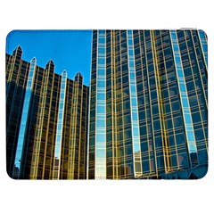 Two Abstract Architectural Patterns Samsung Galaxy Tab 7  P1000 Flip Case