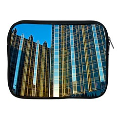 Two Abstract Architectural Patterns Apple iPad 2/3/4 Zipper Cases