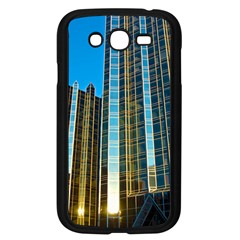Two Abstract Architectural Patterns Samsung Galaxy Grand DUOS I9082 Case (Black)