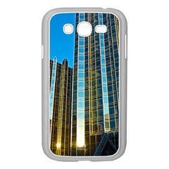 Two Abstract Architectural Patterns Samsung Galaxy Grand Duos I9082 Case (white)