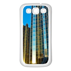 Two Abstract Architectural Patterns Samsung Galaxy S3 Back Case (White)