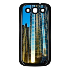 Two Abstract Architectural Patterns Samsung Galaxy S3 Back Case (black)
