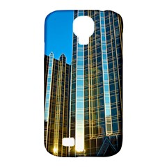 Two Abstract Architectural Patterns Samsung Galaxy S4 Classic Hardshell Case (PC+Silicone)
