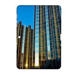 Two Abstract Architectural Patterns Samsung Galaxy Tab 2 (10.1 ) P5100 Hardshell Case