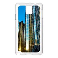Two Abstract Architectural Patterns Samsung Galaxy Note 3 N9005 Case (White)