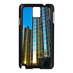 Two Abstract Architectural Patterns Samsung Galaxy Note 3 N9005 Case (black)