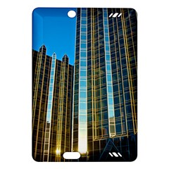 Two Abstract Architectural Patterns Amazon Kindle Fire HD (2013) Hardshell Case