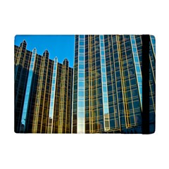 Two Abstract Architectural Patterns iPad Mini 2 Flip Cases