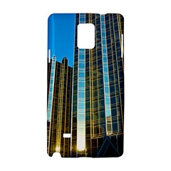 Two Abstract Architectural Patterns Samsung Galaxy Note 4 Hardshell Case