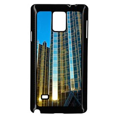 Two Abstract Architectural Patterns Samsung Galaxy Note 4 Case (Black)