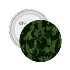 Camouflage Green Army Texture 2.25  Buttons