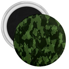 Camouflage Green Army Texture 3  Magnets