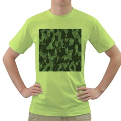 Camouflage Green Army Texture Green T-Shirt