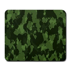 Camouflage Green Army Texture Large Mousepads