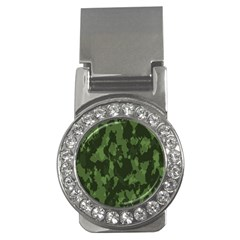 Camouflage Green Army Texture Money Clips (cz)