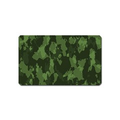 Camouflage Green Army Texture Magnet (name Card)