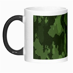 Camouflage Green Army Texture Morph Mugs