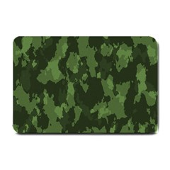 Camouflage Green Army Texture Small Doormat