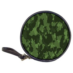 Camouflage Green Army Texture Classic 20 Cd Wallets