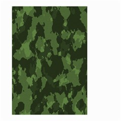 Camouflage Green Army Texture Small Garden Flag (Two Sides)