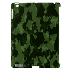 Camouflage Green Army Texture Apple iPad 3/4 Hardshell Case (Compatible with Smart Cover)