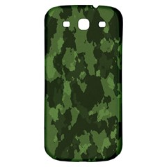 Camouflage Green Army Texture Samsung Galaxy S3 S III Classic Hardshell Back Case