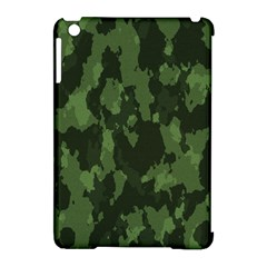 Camouflage Green Army Texture Apple iPad Mini Hardshell Case (Compatible with Smart Cover)
