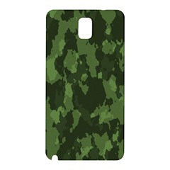 Camouflage Green Army Texture Samsung Galaxy Note 3 N9005 Hardshell Back Case